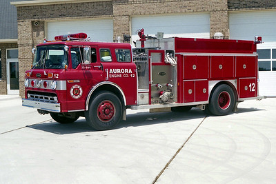 AURORA FD  ENGINE 12  1988  FORD C8000 - E-ONE   1250-1000   #3026