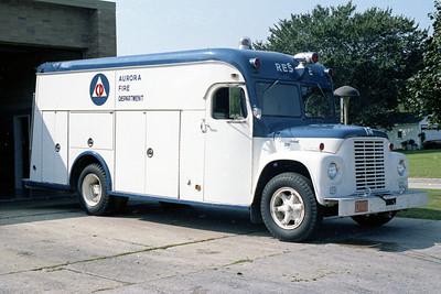 AURORA FD  RESCUE 2  1965  IHC LOADSTAR 1500 - GERSTENSLAGER