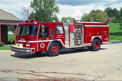 AURORA FD  ENGINE 55  1990 E-ONE HURRICANE  1500-750