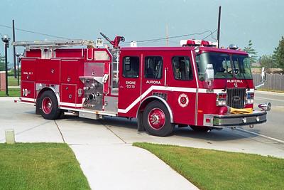 AURORA FD  ENGINE 10  1996  E-ONE CYCLONE   1500-750-50F   #15705