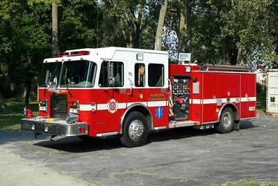 AURORA TOWNSHIP ENGINE 603  SPARTAN - DARLEY