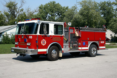 AURORA TOWNSHIP ENGINE 605