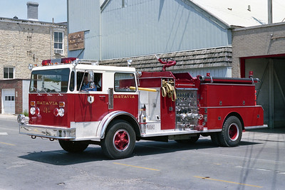 BATAVIA FD  ENGINE 1  1976  DUPLEX- FMC   1250-750   # 12-76
