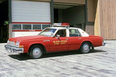 BATAVIA FD  CAR 10   FIRE CHIEF