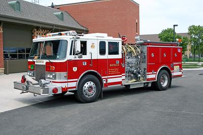 BATAVIA FD  ENGINE 1  1986  PIERCE LANCE   1500-750   1994 4DR ENCLOSURE ADDED   E-3125