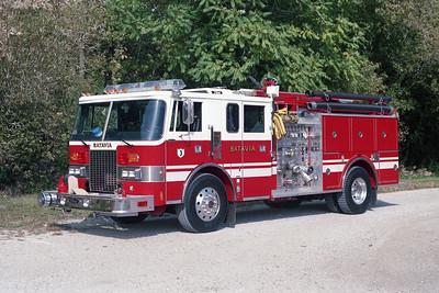 BATAVIA FD  ENGINE 3  1990  PIERCE LANCE   1500-750-30F   E-5940