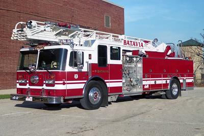 BATAVIA FD  TRUCK 2  1994 - 1978  FWD SEAGRAVE   1250-300-100'   4 DR ENCLOSURE   H-75180