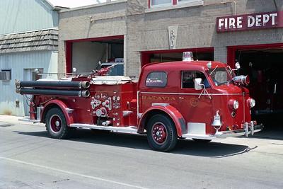 BATAVIA FD  ENGINE 3  1948  ALF 700   1000-300