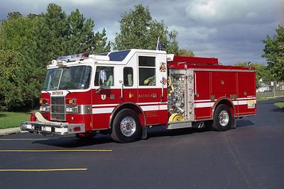 BATAVIA FD  ENGINE 5  2001 PIERCE DASH  1500-500-30B   # 11760