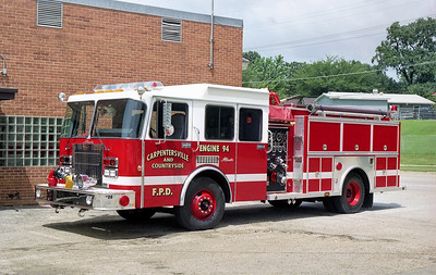 CARPENTERSVILLE  ENGINE 94  1993 SPARTAN - ALEXIS  1500-750   #1506