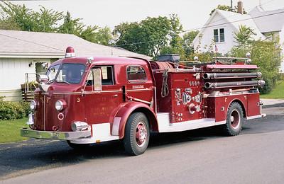 CARPENTERSVILLE  ENGINE 93  1958 ALFCO 800  750-600