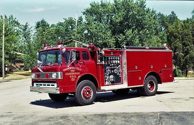 CARPENTERSVILLE   ENGINE 91  1967 FORD C - ALFCO - 1987 REHAB  750-1000