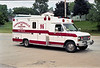 CARPENTERSVILLE  AMBULANCE 96  1989 FORD E350 - TAYLOR