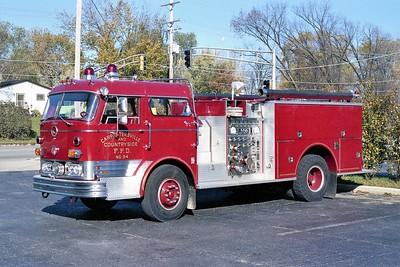 CARPENTERSVILLE  ENGINE 94  1961 MACL C85 - 1096 PIERCE    750-500   C85F-1186    #F-0479