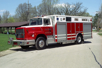 EAST DUNDEE SQD 49  1990 FORD L-8000 - ALEXIS