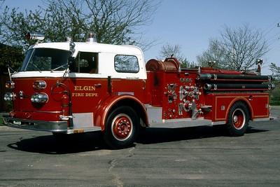 ELGIN FD   ENGINE 6   1959 ALFCO 900   1250-500   RON HEAL PHOTO