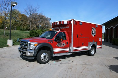 ELGIN  FD FIRE INVESTIGATION  2011  FORD F450 - WHEELED COACH