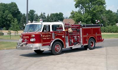 ELGIN FD  ACADEMY ENGINE   1982  ALF CENTURY   1500-500      BILL FRIEDRICH PHOTO