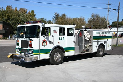 FOX RIVER & COUNTRYSIDE FPD  ENG 1821  1993  SEAGRAVE  1500-750 X-BARTLETT FPD    BF