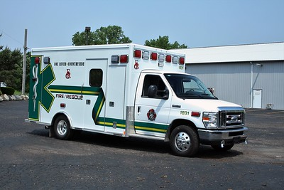 FOX RIVER & COUNTRYSIDE FPD AMB 1831  2010 FORD E-450 - MEDTEC  BF