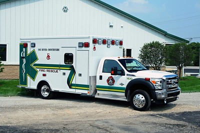 FOX RIVER & COUNTRYSIDE FPD  AMB 1830  2011 FORD F-450 - MEDTEC  BF