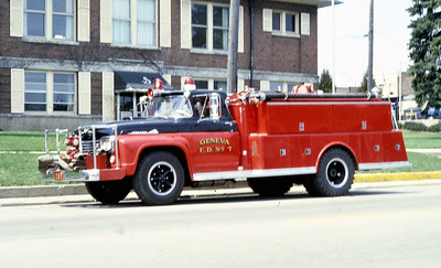 GENEVA FD  ENGINE 207  1960  FORD F - ALEXIS  750-500