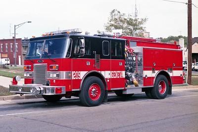 GENEVA FD  ENGINE 209  1991  PIERCE LANCE   1500-750-30F   E-6384