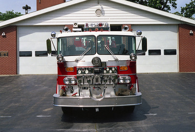 NORTH AURORA FPD TRK 511 FRONT VIEW  WHITE ROOF  BF