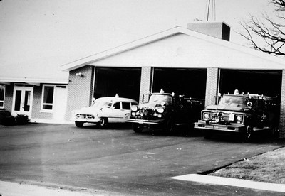 NORTH AURORA NEW CURRENT STATION EARLY 60'S  JEFF SCHIELKE COLLECTION  BF