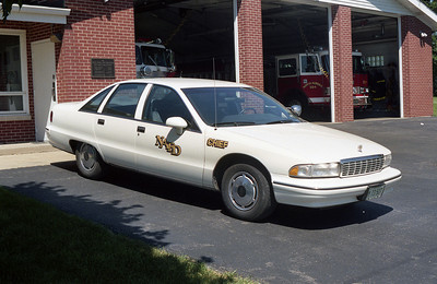 NORTH AURORA FPD CAR 511  1991 CHEVY CAPRICE  BFCAPRICE  BF