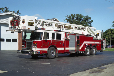 NORTH AURORA TRK 502  2001 PIERCE DASH   2000-300-100'BF