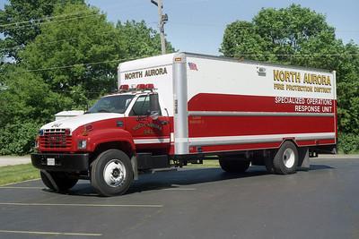NORTH AURORA TECHNICAL RESCUE 543   2000 GMC 6500 - MORGAN  BF