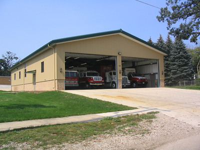 NORTH AURORA FPD STORAGE BUILDING FOR TECHNICAL RESCUE UNITS   BF