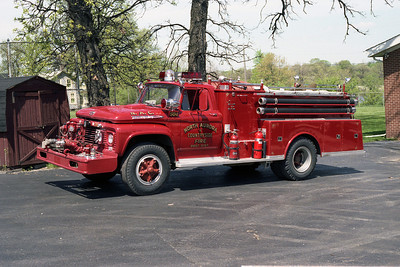 NORTH AURORA FPD ENG 504  1963 FORD F-650- ALEXIS  750-1000  BF
