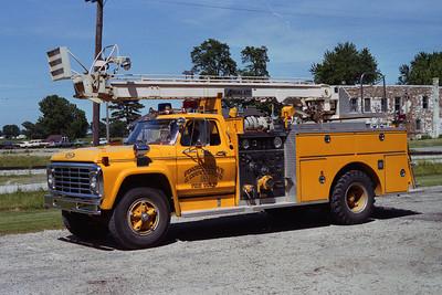 PINGREE GROVE FPD  ENGINE 1213   AERIAL-ETT