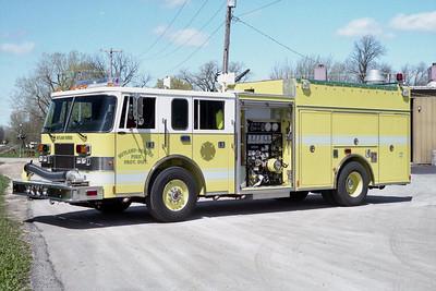 RUTLAND DUNDEE  ENGINE 52 1998 PIERCE SABER  1500-750