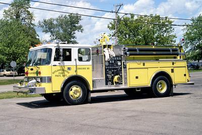 RUTLAND DUNDEE   ENGINE 53 1993 PIERCE DASH  1250-1000    E-2100