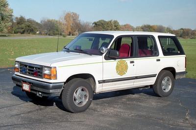 RUTLAND DUNDEE  CAR 50   1991 FORD EXPLORER