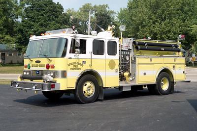 RUTLAND DUNDEE  ENGINE  53  1984 - 1994 PIERCE DASH   E-2100