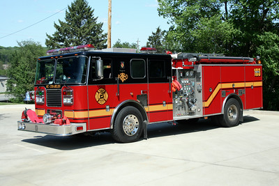 ST CHARLES ENGINE 103  SEAGRAVE