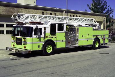 ST CHARLES FD  TRUCK 110  SEAGRAVE  1250-300-100'