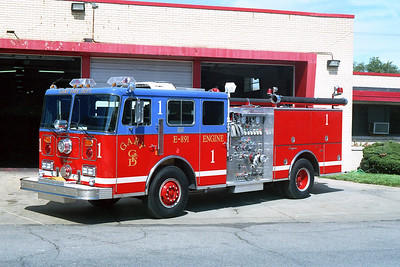 GARY FD IN  ENGINE 1  SEAGRAVE