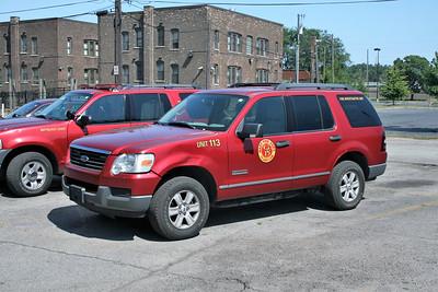 GARY UNIT 113    2004 FORD EXPLORER   FIRE INVESTIGATION