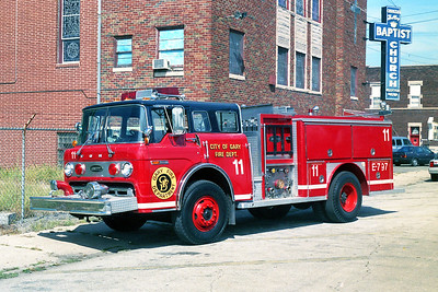 GARY FD IN  ENGINE 11  FORD C - E-ONE
