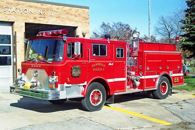 HAMMOND FD IN  ENGINE 8  1971  MACK CF - 1992  ALF   1250-750