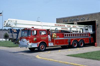 HAMMOND FD IN  SNORKEL 1  1973  MACK CF - PIERCE - PITTMAN   85' SNKL   DON FEIPEL PHOTO