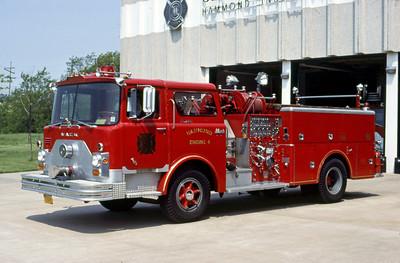 HAMMOND FD IN  ENGINE 4  1971  MACK CF   1250-500    DON FEIPEL PHOTO