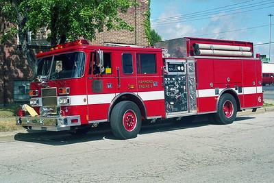 HAMMOND FD IN  ENGINE 6  1997  PIERCE SABER   1500-750   EA-681-2
