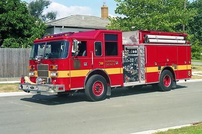 HAMMOND FD IN  ENGINE 8  1999  PIERCE SABER   1500-750   ED-220