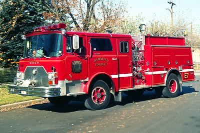 HAMMOND FD IN  ENGINE 7  1971 MACK CF - 1991 ALF   1250-750